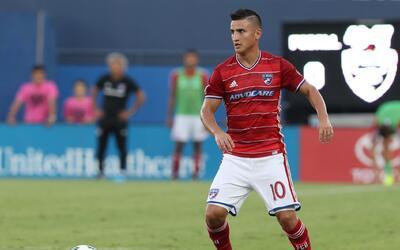Mauro Díaz, jugador de FC Dallas