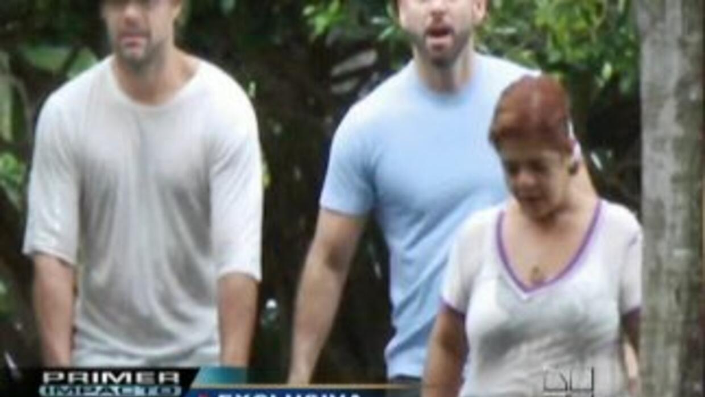 ¿Ricky Martin y su nueva pareja?