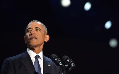 """Obama advitió que la buena salud de la democracia estadounidense """"n..."""