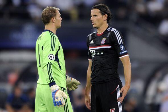 Ese gol fue suficiente y el Bayern se impuso por 1-0, con global de 3-0.