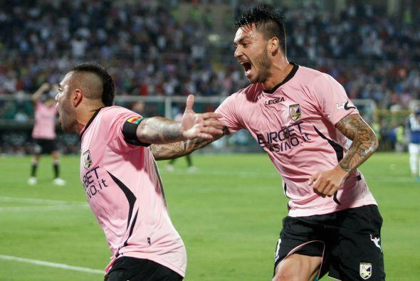 Miccoli estaba enrrachado y le dio la ventaja al Palermo a falta de cuat...