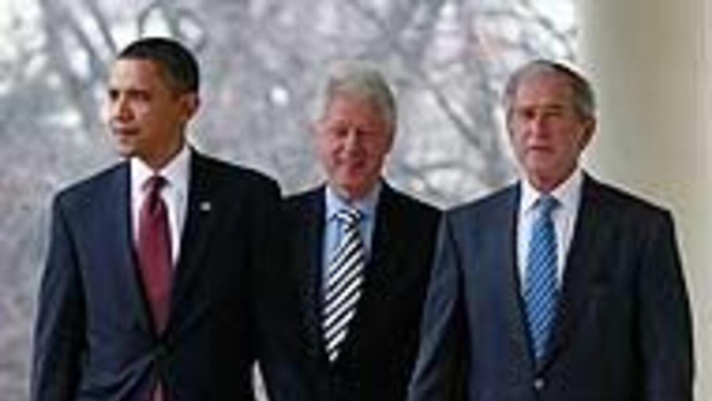 Obama anunció establecimiento del Fondo 'Clinton-Bush' de ayuda para Hai...