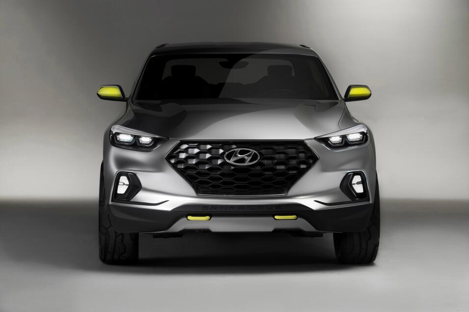 La primera camioneta pickup de Hyundai está a la vuelta de la esquina 00...