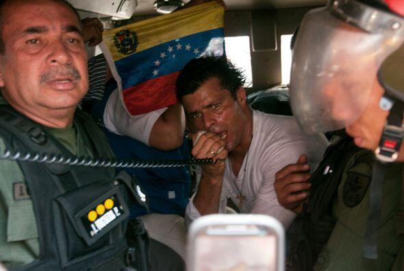 Por decisión de la jueza Dalenys Tovar, Leopoldo López per...