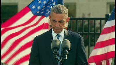 Tercer minuto de silencio por las víctimas del 9/11 del Pentágono