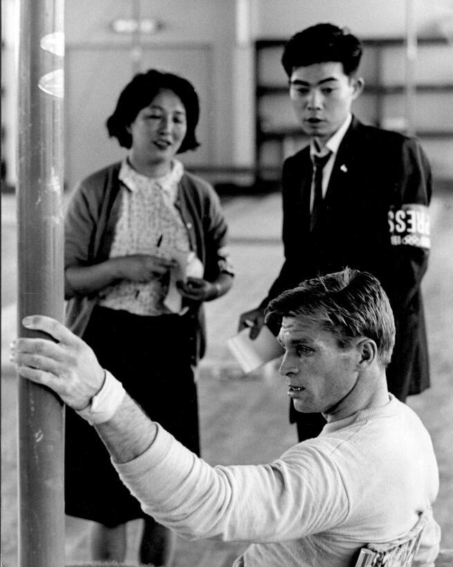 6. Boris Shakhlin (URSS/gimnasia artística) - 13 (7 oros, 4 platas, 2 br...