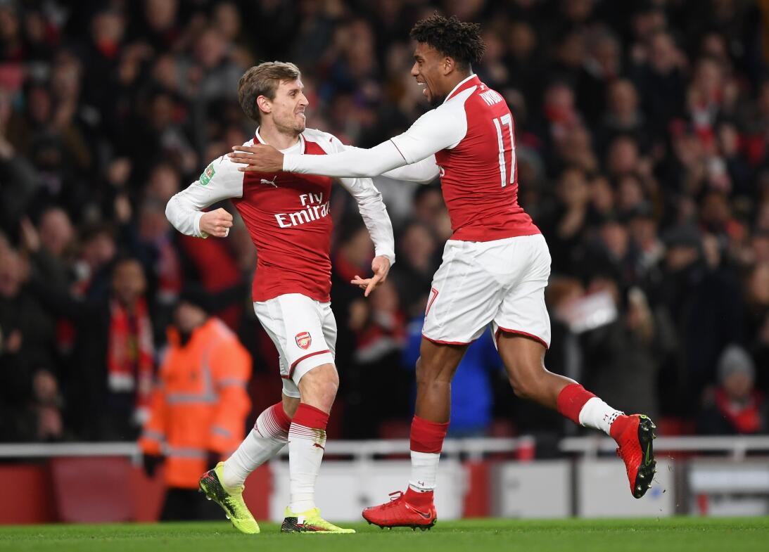 Hay vida después de Alexis: Arsenal clasificó a la final de la Copa de l...