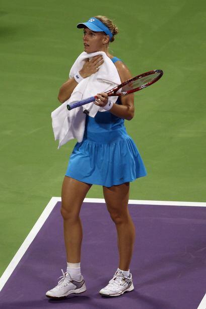 Novena en el ránking mundial, Dementieva no pudo ante Wozniacki, número...