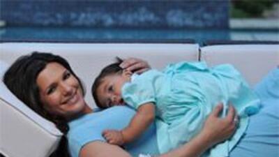 Bárbara Bermudo muy pronto tendrá su segunda hija y ya prepara a Mía And...