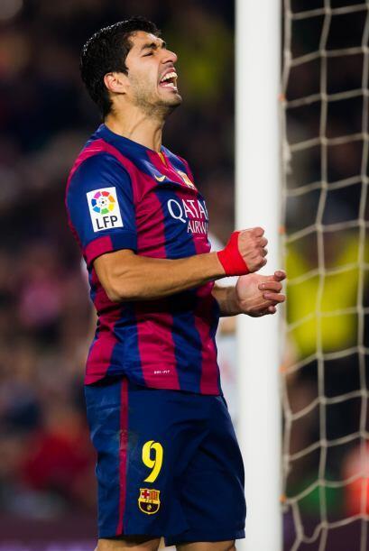 Luis Suárez se ha asociado muy bien en el ataque del Barcelona con Neyma...