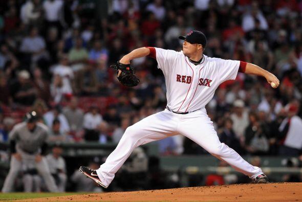 Jon Lester fue el encargado de abrir las hostilidades para Boston.