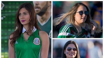 La belleza mexicana siguió al Tri hasta el Alamodome para enfrentar a Bosnia