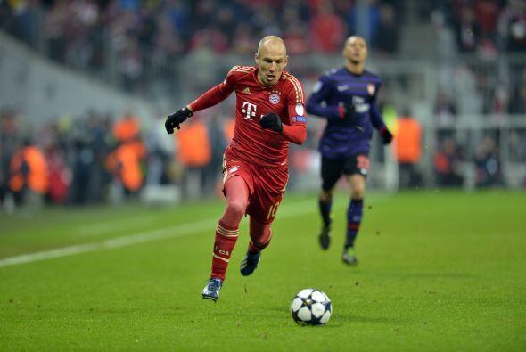 En el segundo tiempo, el Bayern estuvo muy cerca de igualar las cosas, p...