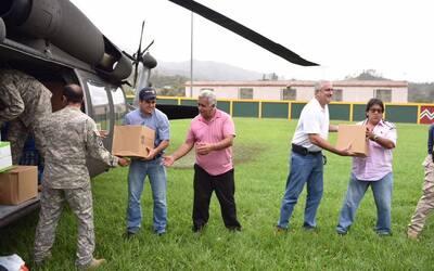 El gobernador Ricardo Rosselló Nevares llegó vía a&...