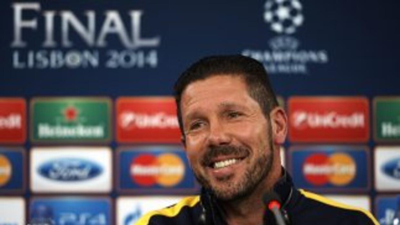 El 'Cholo' admira la forma en la que juega el Real Madrid.