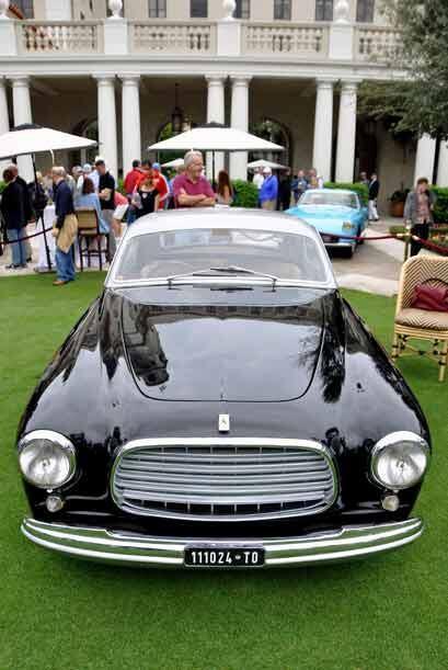 Este Ferrari 212 El Iinter Ghia Coupe de 1952 fue registrado originalmen...
