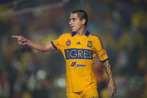 Danilo Verón de Tigres también es de los futbolistas más caros del torne...