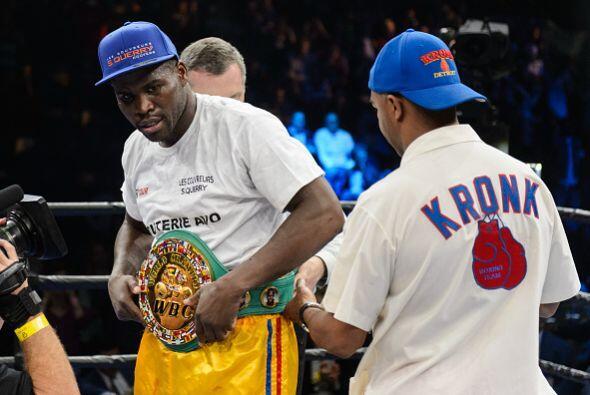 Ahora se habla que la siguiente pelea de Stevenson pudiera ser contra Ko...