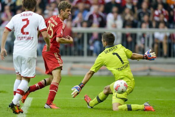 Este seleccionado alemán marcó un buen gol pero sobre todo dio dos asist...