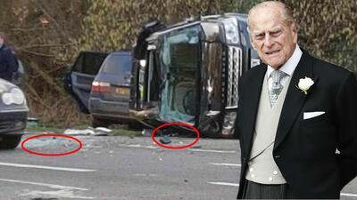 Ofrecen hasta 85,000 dólares por vidrios y otros restos del choque del príncipe Philip