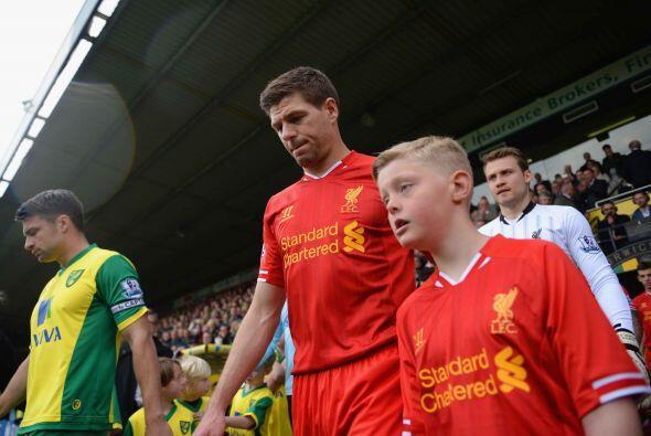 El Liverpool encaraba su partido de la fecha 35 de la Liga Premier, ante...