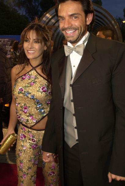 Eugenio Derbez y Sara Bustani desfilaron muy felices en 2001. Sin embarg...