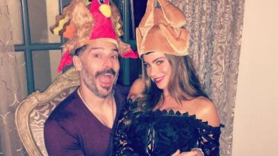 Los famosos celebran Thanksgiving 2016