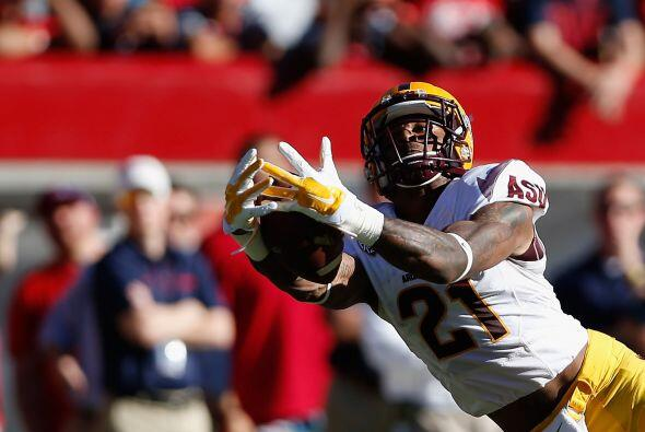 Selección 26 Baltimore Ravens: WR Jaelen Strong, Arizona State.