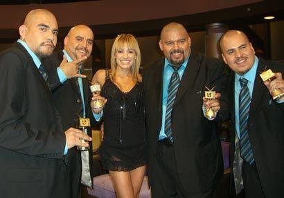La cantante y Los Amos de Nuevo León felices con el recuerdo que...