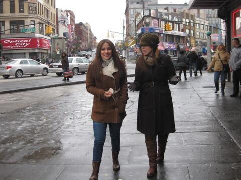 Nuestra afiliada Noticias Univision en Nueva York acompañó...
