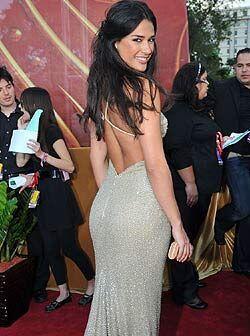 Ana Carolina no podía asistir a la entrega de PLN sin lucir un vestido m...