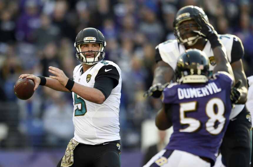 Los Jacksonville Jaguars lograron dramático triunfo 22 - 20 sobre los Ba...