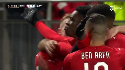 ¡GOOOL! Ismaila Sarr anota para Rennes