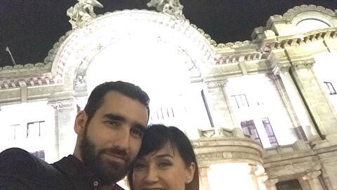 Susana Zabaleta anda con un actor 15 años menor que ella
