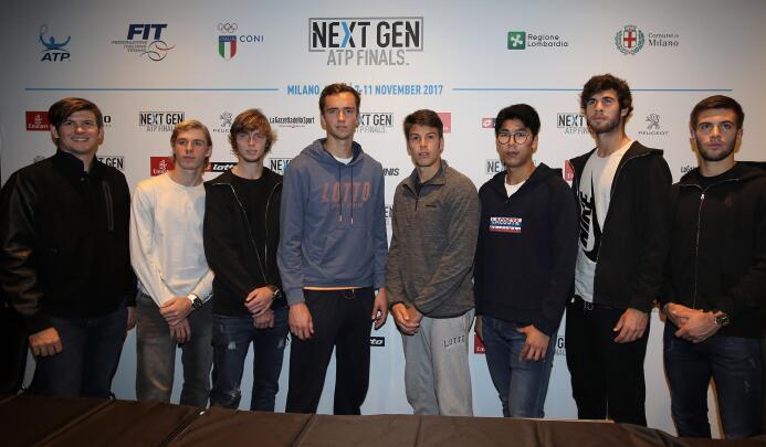 Next Generation ATP, un sensual y escandaloso sorteo en la cita de los m...