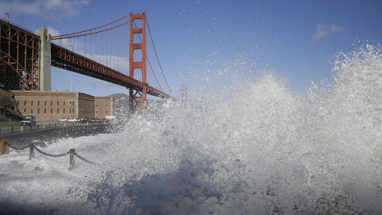 Nieve en San Francisco California.