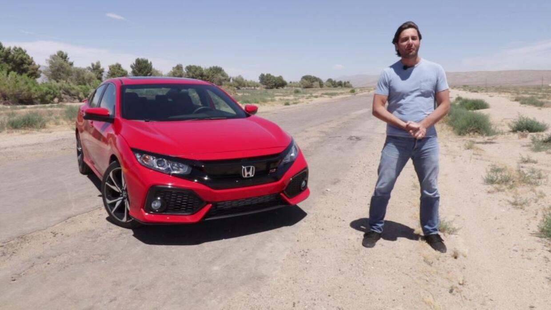 Honda Civic Si 2017 - Prueba A Bordo Completa