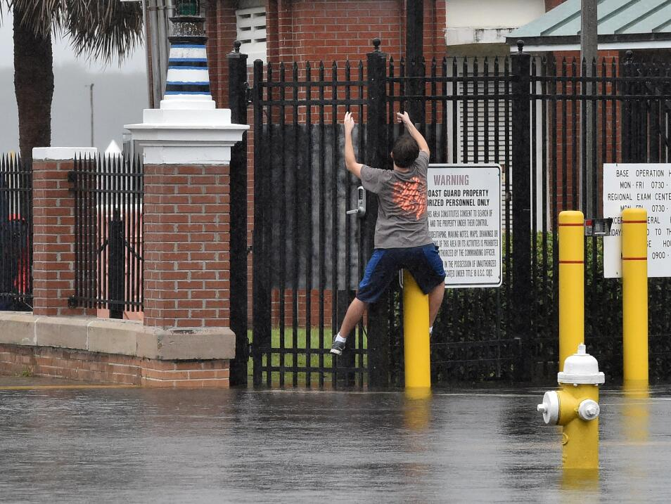 Inundaciones en la costa este