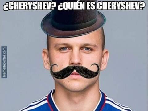 Cheryshev estaba sancionado por acumulación de amonestaciones, Re...