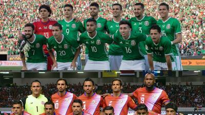 El 'Tri' es ampliamente más costoso que la selección de Costa Rica