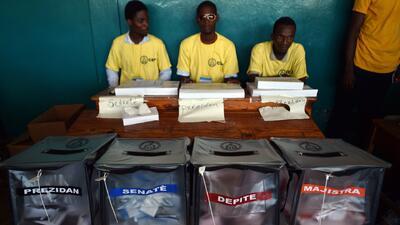 Numerosos candidatos para presidente en Haití