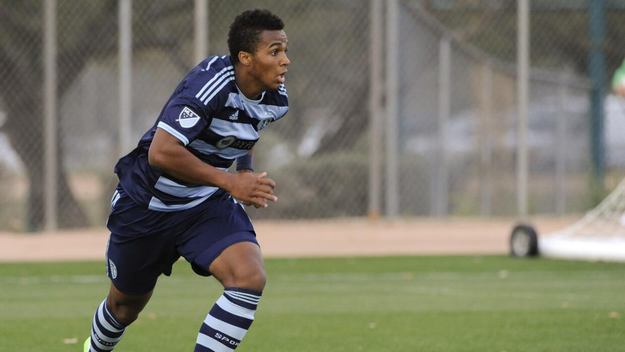 Erik-Palmer Brown de Sporting Kansas City