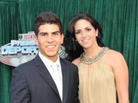 El corredor de autos Antonio Pérez, uno de los nominados en los T...