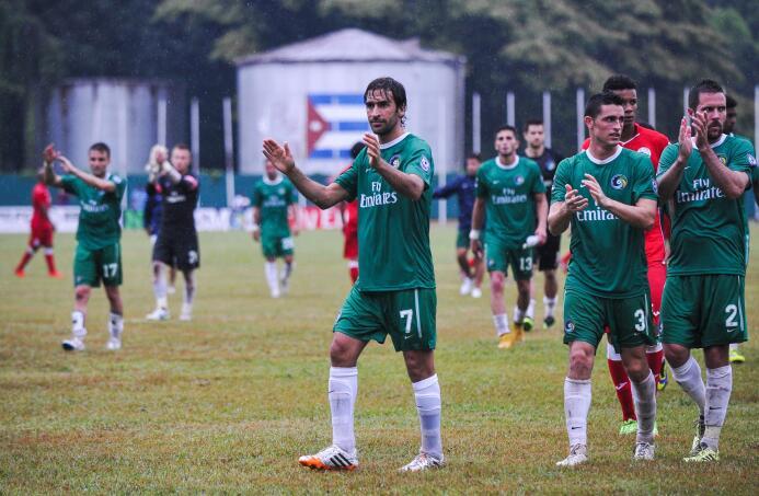 La Habana fue testigo de un partido histórico entre  el equipo de Nueva...