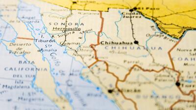 El 'Triángulo Dorado', la zona más disputada por el narco