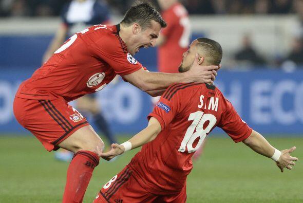 Sidney Sam fue el autor de este primer gol, que le daba emoción a la eli...