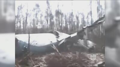Hallan restos del avión indonesio