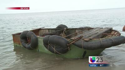 Nueve balseros cubanos llegan a Key Biscayne