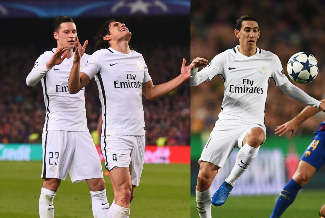 ¡Miedo! Los tríos ofensivos que dominan el fútbol de Europa Draxler, Cav...