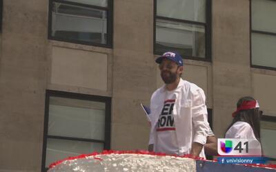 Comunidad dominicana celebra su gran desfile en New York